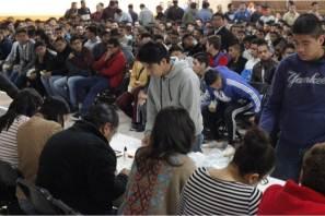 Participan 828 jóvenes de Mineral de la Reforma en sorteo anual del Servicio Militar Nacional