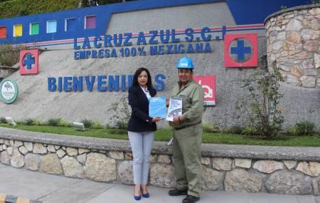 Planta Hidalgo Cooperativa La Cruz Azul  se une a la Campaña Dona un Libro en ITESA .jpg