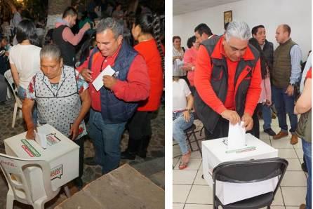 PRI Hidalgo suma 77 municipios visitados para la aplicación de la consulta PRI 2018-3