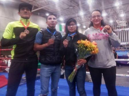 Pugilistas hidalguenses suben al podio en Nacional de Elite 20181