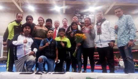 Pugilistas hidalguenses suben al podio en Nacional de Elite 20182