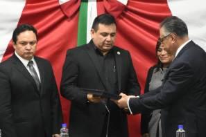 Raúl Arroyo González, procurador general de Justicia en Hidalgo, comparece ante la Comisión de Seguridad Ciudadana y Justicia de la LXIV Legislatura3