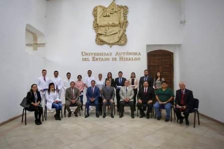 Resaltan méritos de alumnos e investigadores de UAEH