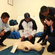 Se capacitan instructores deportivos de Mineral de la Reforma en Primeros Auxilios2