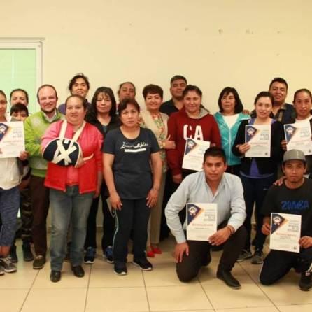 Se capacitan instructores deportivos de Mineral de la Reforma en Primeros Auxilios3