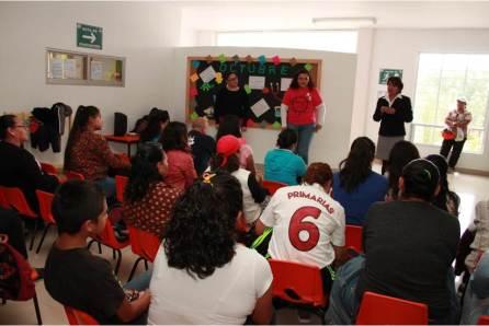 Se realizan talleres de convivencia sana en CAIC´S de Mineral de la Reforma