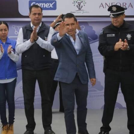"""Se rehabilita Parque """"El Roble"""" en coordinación con la Policía Federal1"""