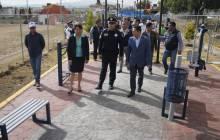 """Se rehabilita Parque """"El Roble"""" en coordinación con la Policía Federal6"""