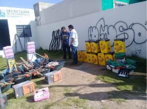 Sedeco de Mineral de la Reforma, realiza entrega de paquetes de herramientas a bajo costo