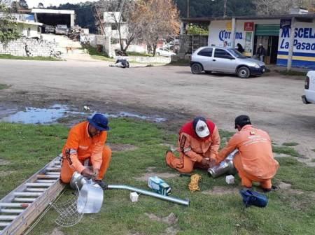 SOPOT participa en actividades comunitarias en Ciénega Larga, Mineral de la Reforma