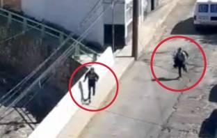 Tras cristalazos a vehículos en Pachuca, tres detenidos con videovigilancia y operativo policial3