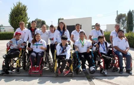 Un oro y dos platas para Hidalgo en Campeonato Nacional Multideportivo de parálisis cerebral .jpg