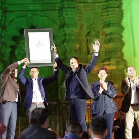 Zimapán recibió denominación oficial como sexto Pueblo Mágico de Hidalgo3