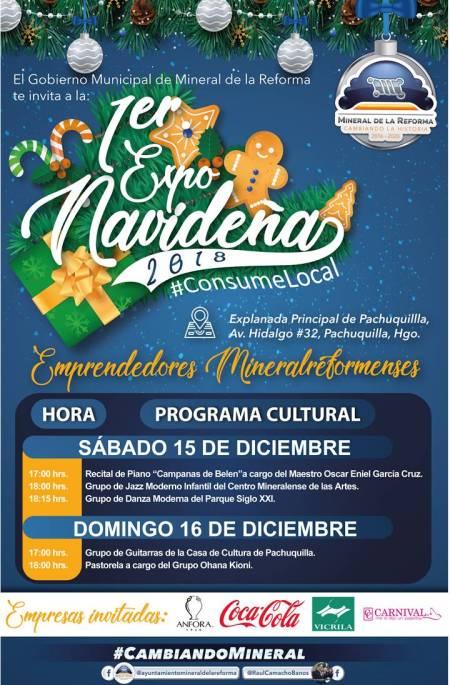 Alistan sábado 15 y domingo 16, Primer Expo Navideña en Pachuquilla 1