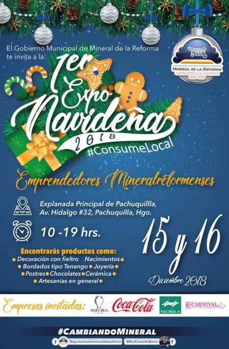 Alistan sábado 15 y domingo 16, Primer Expo Navideña en Pachuquilla 2