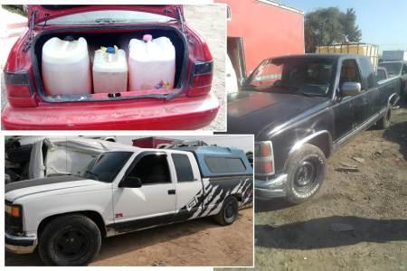 Asegura en Tepeji nueve vehículos que tenían reporte de robo