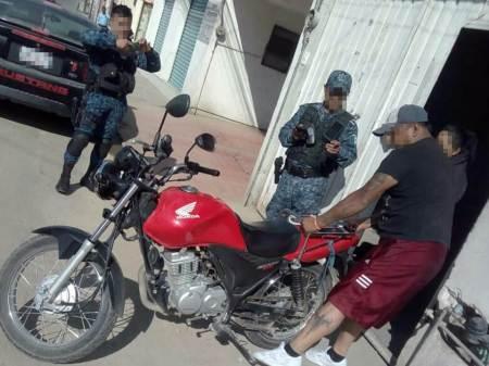 Con drone, localiza y recuperan motocicleta robada en Pachuca