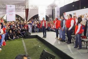 Democratizar al PRI en Hidalgo, compromete Omar Fayad