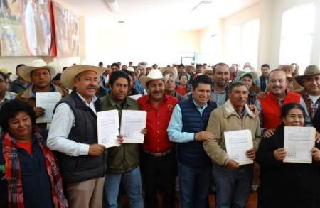 Entrega CNC oficios de autorización del Programa Concurrencia a 147 productores