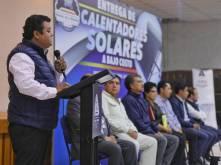 Entrega Mineral de la Reforma más de 370 calentadores solares2