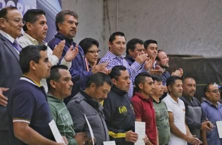 Entrega Mineral de la Reforma más de 370 calentadores solares5