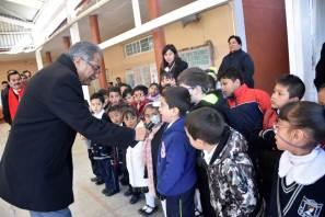 Entrega SEPH obras de infraestructura educativa en Apan