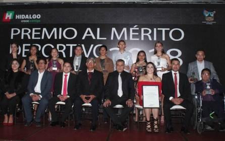 """Galardonan a deportistas con el Premio al Mérito Deportivo 2018 """"Raúl Alonso Jiménez Rodríguez""""4"""