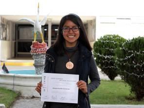 Gana bronce alumna de UAEH en Olimpiada Nacional de Biología 1