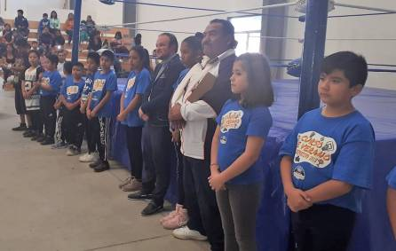 Promueve Mineral de la Reforma, lucha libre infantil como práctica deportiva 4