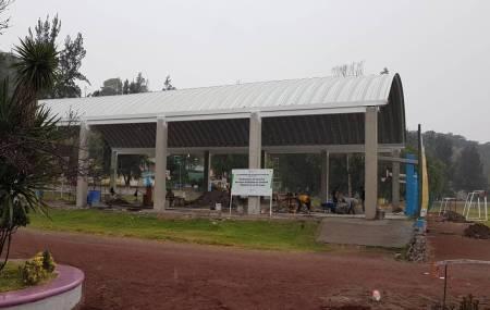 SOPOT construye techumbre en Unidad Deportiva La Tortuga1