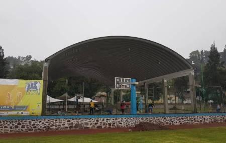 SOPOT construye techumbre en Unidad Deportiva La Tortuga2