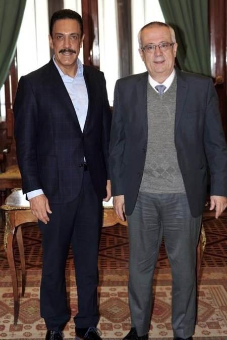 Sostienen reunión de trabajo el gobernador de Hidalgo y el secretario de Hacienda y Crédito Público
