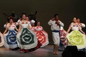 Alegoría y sincronía Michoacana, montaje dancístico universitario