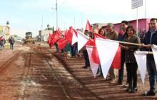 Arranca pavimentación de la calle Progreso en la colonia Antorcha Campesina de Tizayuca3