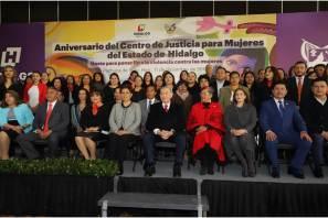 Centro de Justicia para Mujeres celebra su cuarto aniversario con trabajo en beneficio de las hidalguenses2