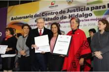 Centro de Justicia para Mujeres celebra su cuarto aniversario con trabajo en beneficio de las hidalguenses5