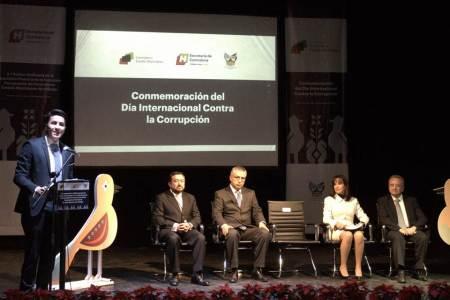 Conmemoran contralores de Hidalgo el Día Internacional Contra la Corrupción