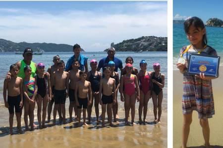 Gran actuación de nadadores del CEAR en el Circuito de Aguas Abiertas2
