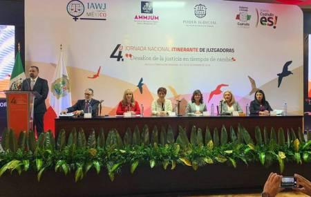 Participó la magistrada Blanca Sánchez en encuentro nacional de juzgadoras