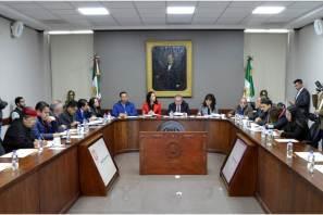 Presidenta del IEE sostiene reunión de trabajo con las y los integrantes del Congreso Local