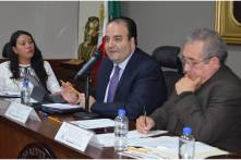 Presidente de la CDHEH se reúne con diputados de la LXIV Legislatura del Congreso del Estado3