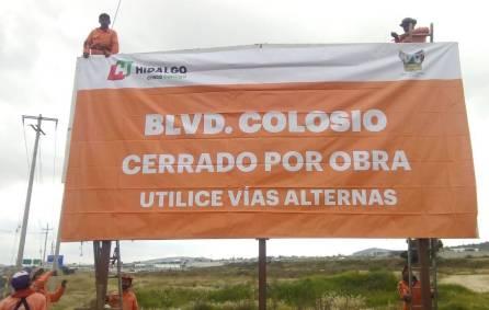 Promueve SOPOT uso de vías alternas por obras en Colosio1