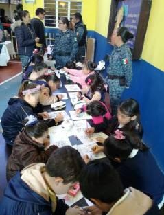 Realiza Policía Estatal tercera audiencia infantil en Pachuca3