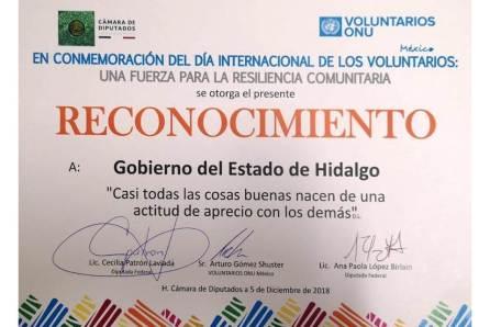 Reconoce ONU Voluntarios trabajo de Hidalgo para alcanzar el Desarrollo Sostenible4