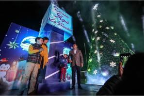 Se enciende árbol de navidad en Pachuquilla y colonias de Mineral de la Reforma2