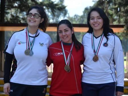 Tiro con arco cerró participación en el nacional bajo techo con 13 medallas 2