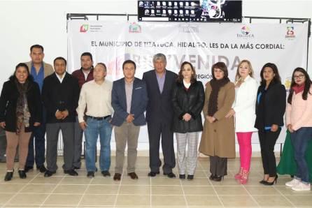 Tizayuca sede de la Reunión de contralores Internos Municipales de la Región II