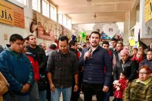 Total apoyo a los comerciantes, Israel Félix Soto