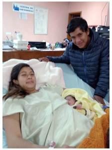 ¡Una niña! El primer bebé en nacer dentro de la red hospitalaria de la SSH