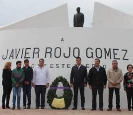 48 Aniversario del fallecimiento del exgobernador del estado Javier Rojo Gómez 1